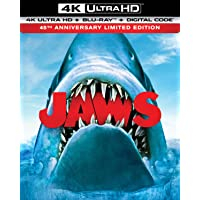 Deals on Jaws 45th Anniversary 4K UHD + Blu-ray