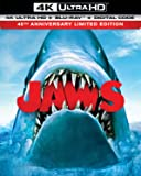 Jaws 45th Anniversary Limited Edition 4K Ultra HD + Blu-ray + Digital