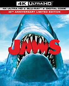 JAWS 45th Anniversary Limited Edition arrives for the First Time on 4K Ultra HD June 2 from Universal