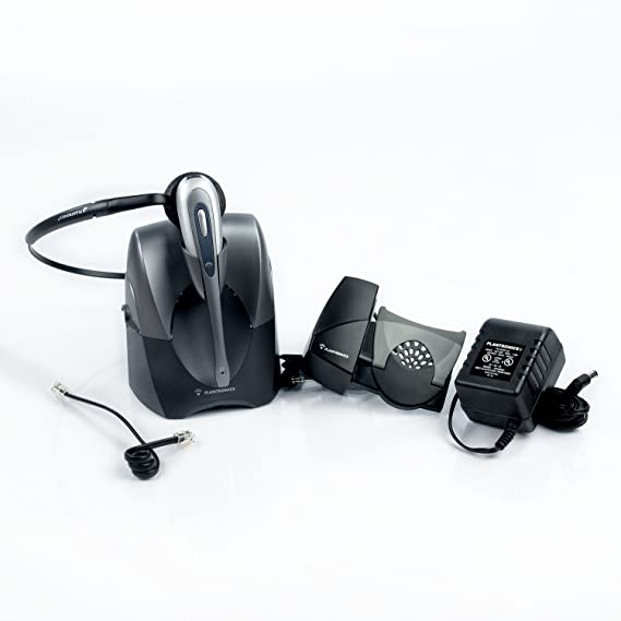 Amazon Com Plantronics Cs55 Wireless Headset System Lifter Not Included