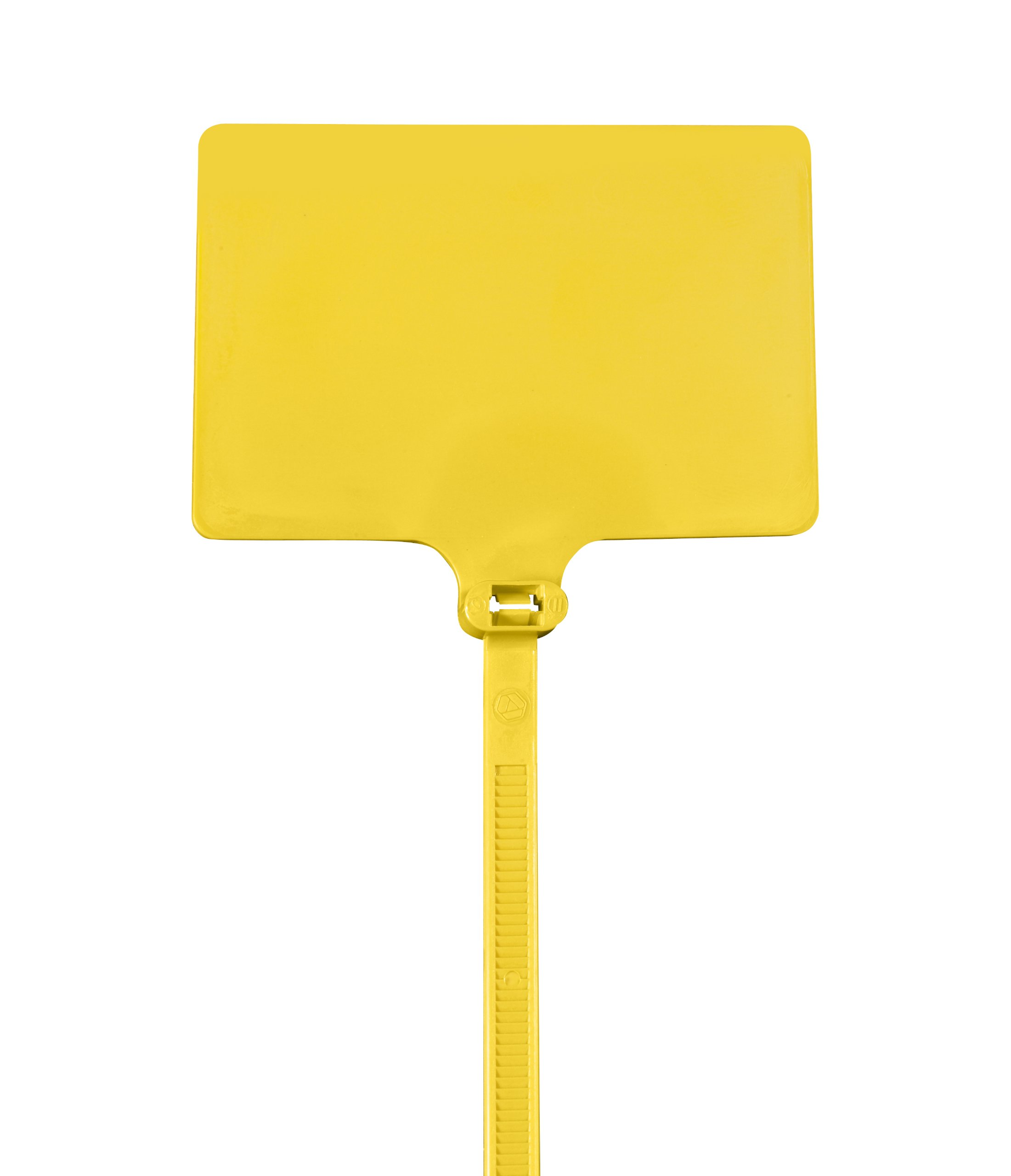Aviditi Identification Cable Tie, 9'' L x 1/4'' W, 120 lb Tensile Strength, Yellow, Case of 100 (CTID86)