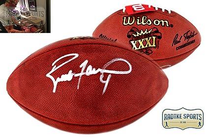 quality design e3b8a 38983 Brett Favre Autographed/Signed Authentic Super Bowl 31 ...