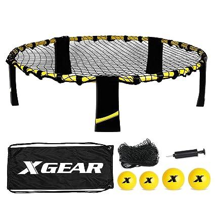 Amazon.com: Juego de palos de voleibol XGEAR, juego de patio ...