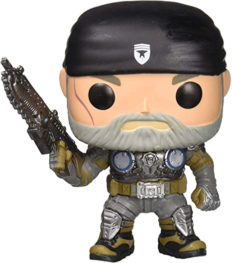 Funko Pop Games Gears Of War Marcus Fenix Old Man Action Figure