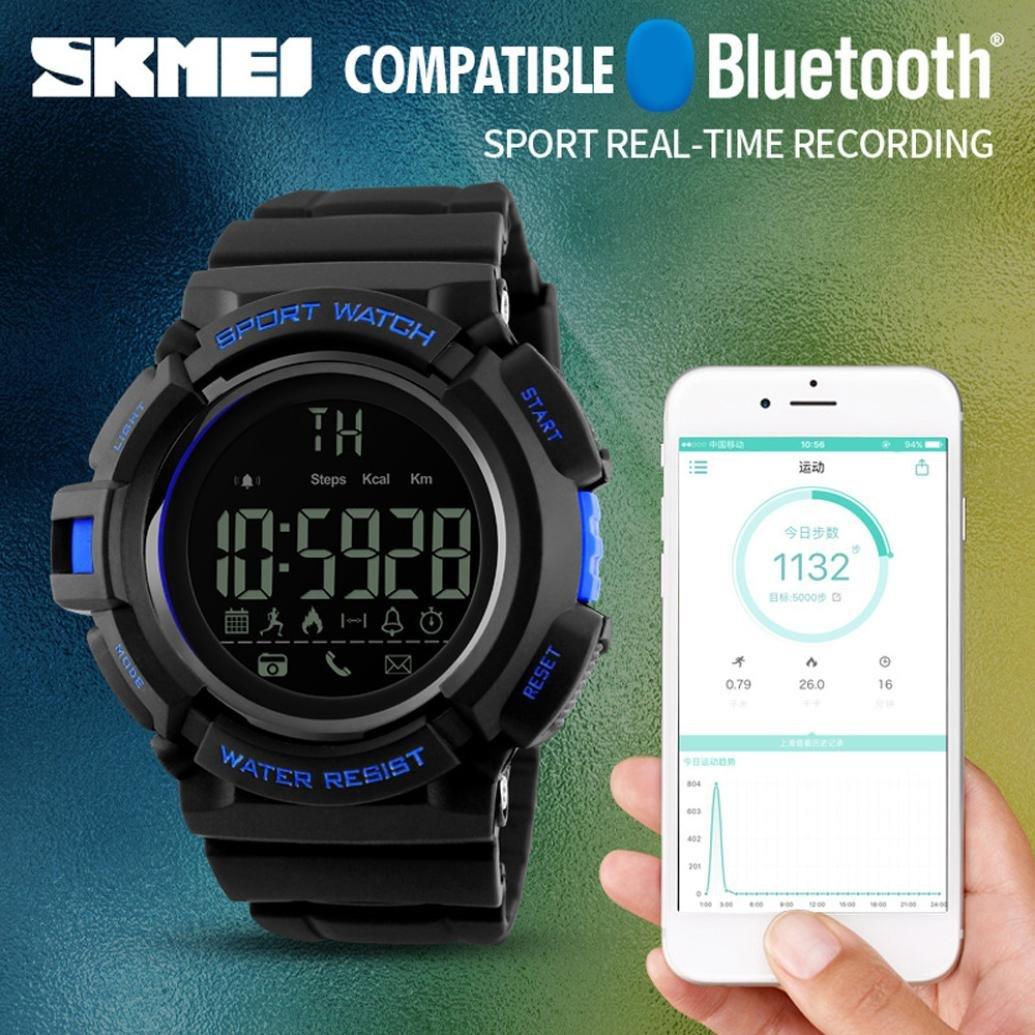Reloj Inteligente Versión, Btruely Herren SKMEI Smartwatch Android ...