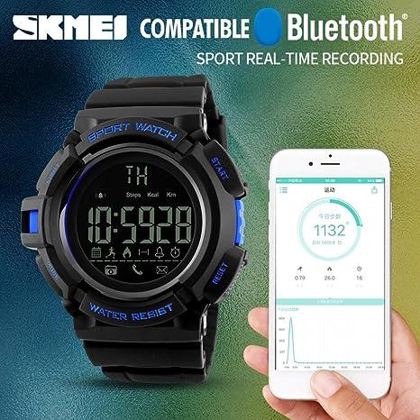 Reloj Inteligente Versión, Btruely Herren SKMEI Smartwatch ...