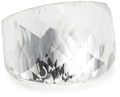f8f525b83 Swarovski Nirvana Ring Clear White Silver Plated Size 55 Medium UK N US 7:  Amazon.co.uk: Jewellery