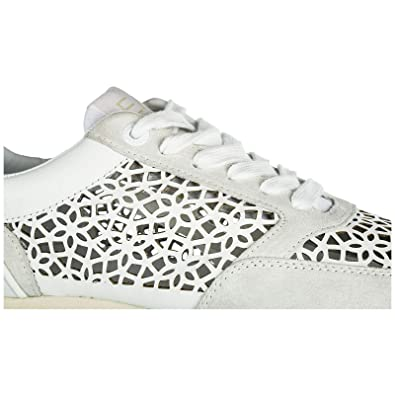 Baskets en Cuir Armani Emporio EA7 Sneakers Femme Chaussures FcngwtHaq