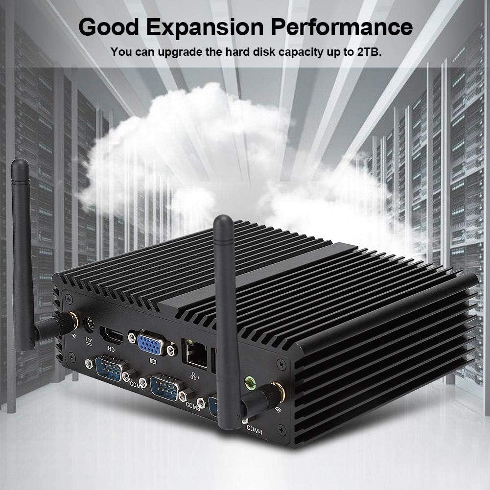 Supporto SSD M-SATA//Dual Band WiFi//Dual Gigabit LAN Unione Europea 1 TB HDD per CPU Intel J900 a 4 Core a 4 Thread ASHATA Mini PC per Windows 7 64 Bit 4 GB DDR3