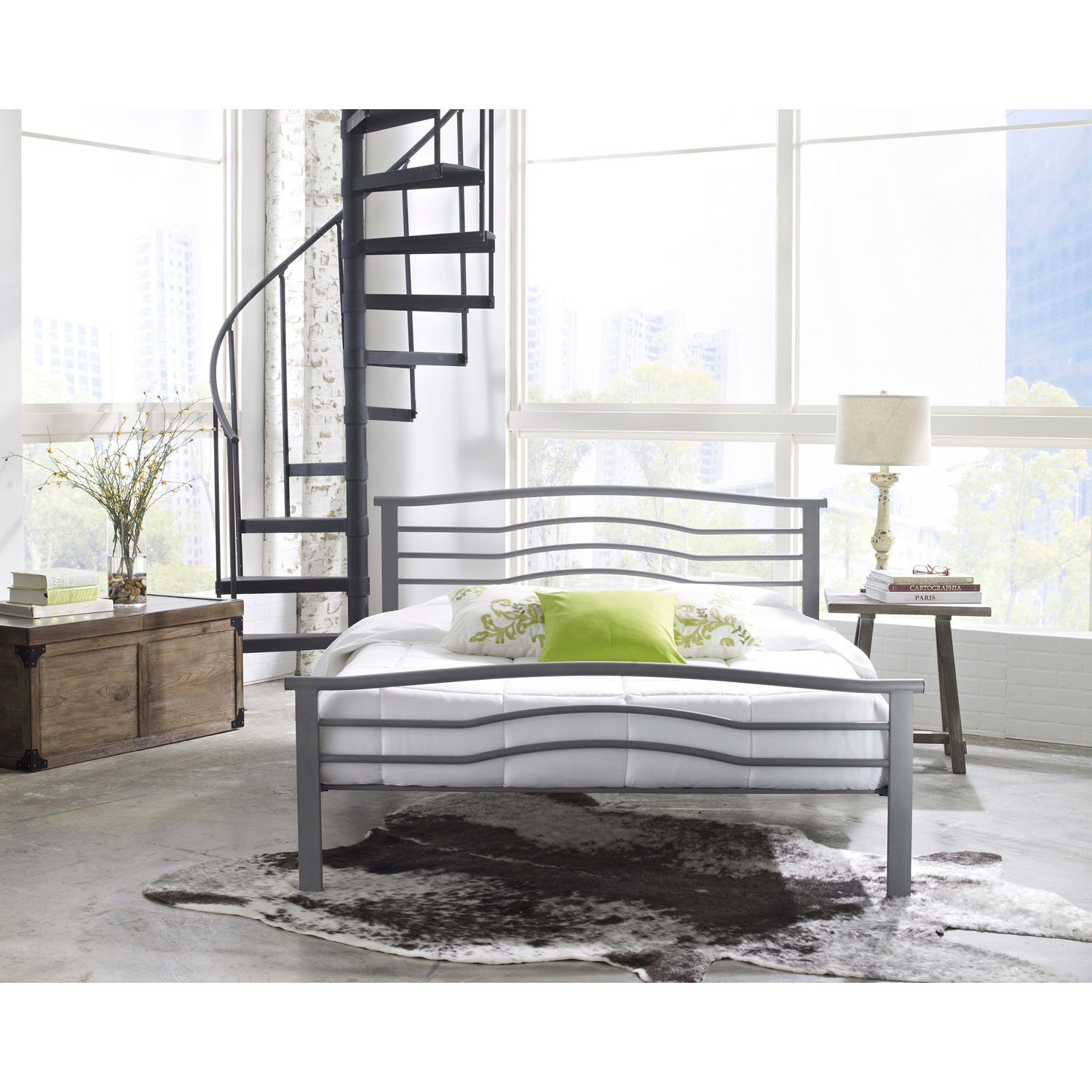 double stylish bed frames mattress full queen size platform of furniture bedroom storage low frame in with way white and