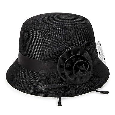 Il Caldo sombreado sombrero de paja verano ventilación de la mujer ...