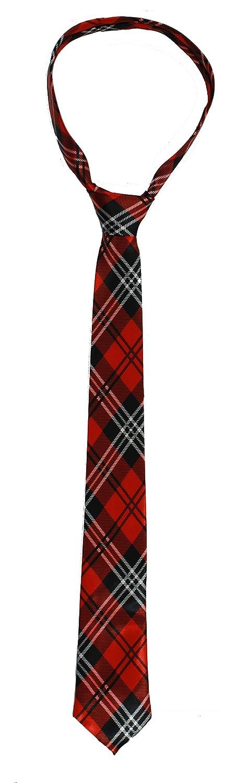 ILOVEFANCYDRESS Schottische Krawatte in Rotem Karo Muster und Den STÜCKZAHLEN von    1 Krawatte    6 Krawatten    12 Krawatten    24 Krawatten B01EK2OTVY Zubehör Lassen Sie unsere Produkte in die Welt gehen     | Shopping Online