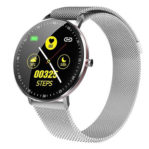 WLPT Reloj Elegante F19, Bluetooth 5.0 Inteligente Pulsera ...