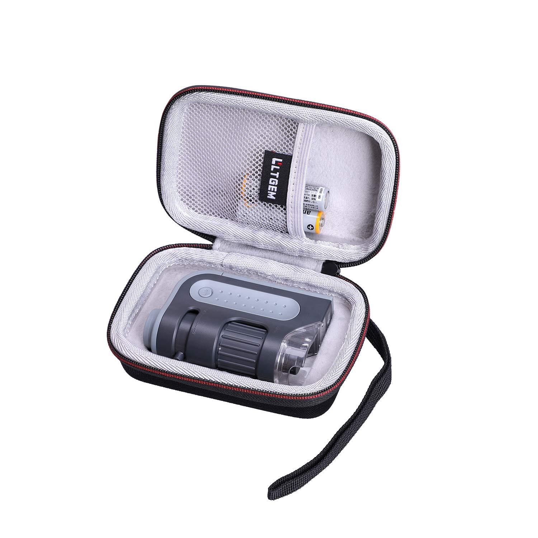Tasche Für Carson Mm 300 Microbrite Plus Zakmicroscoop Ltgem Case For Microscopen Gewerbe Industrie Wissenschaft