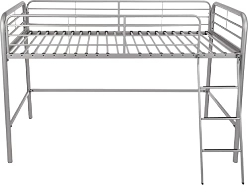 Amazon Basics Metal Twin Loft Bed