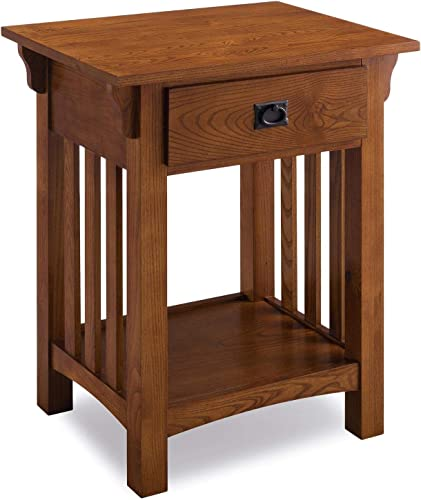 Leick Furniture KD Furnishings Wooden Contemporary Side Table