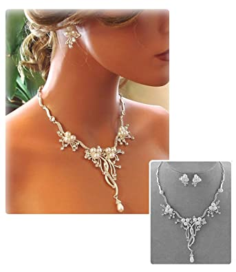 jewelry inspired vintage fashion center tone products crop necklace crystal vine silver