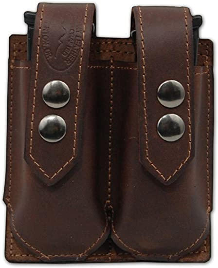 NEW Barsony Burgundy Leather Magazine Pouch for Sig-Sauer Walther Mini 22 25 380