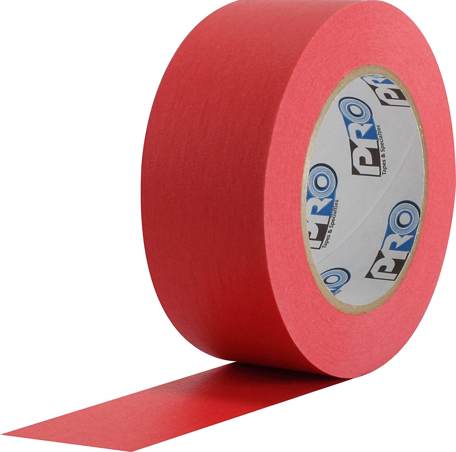 60 Yds Length X 1 Width Pack of 1 Red ProTapes Pro 46 Crepe Paper Masking Tape