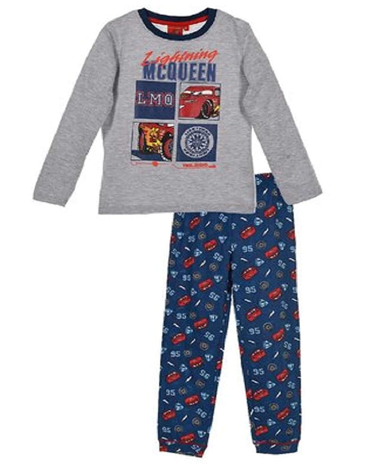 Disney Cars Official Boys Cotton Pajamas Age 3 to 8 Years
