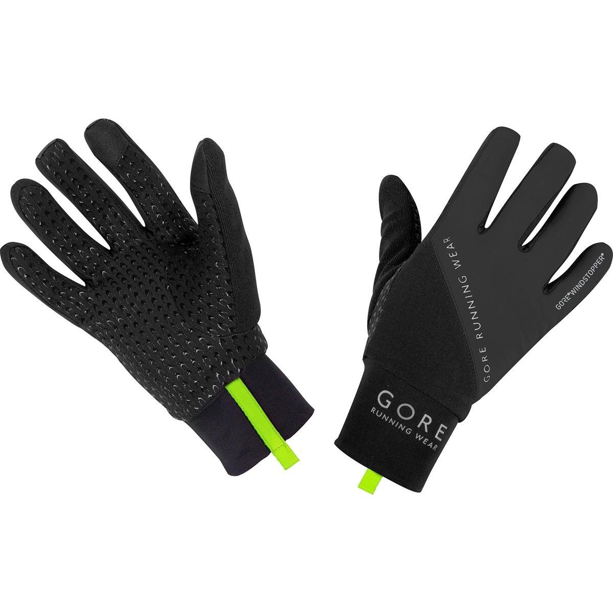 GORE RUNNING WEAR Homme Gants de courses, chauds, Coupe-vent, GORE WINDSTOPPER, FUSION, GWULTR