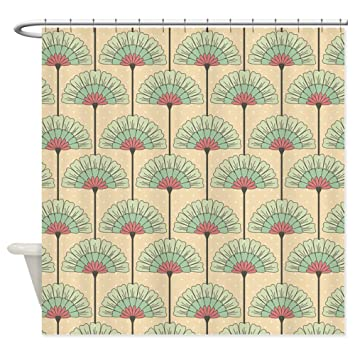 CafePress   Vintage Art Deco Abstract Shower Curtain   Decorative Fabric Shower  Curtain (69u0026quot;