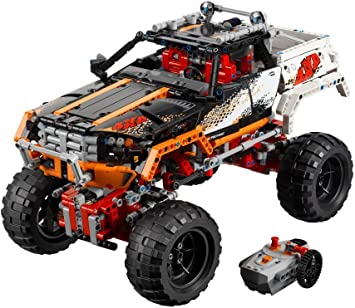 Amazon Com Lego Technic 9398 4 X 4 Crawler Discontinued By Manufacturer Toys Games