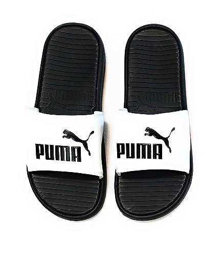 c018301827ac PUMA Mens Pop Cat Athletic Slide Sandals (9