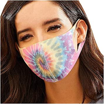 CSQQ Adult Print Mask Women Floral Adjustable Washable Safety Protect Dustproof Haze Face Mask Anti Smoke Pollution Bike Motorcycle Sport
