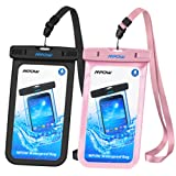 Amazon Price History for:Mpow Universal Waterproof Case, IPX8 Waterproof Phone Pouch Dry Bag for iPhone X/8/8plus/7/7plus/6s/6/6s plus Samsung galaxy s8/s7 Google Pixel HTC10 (Black,Pink 2-Pack)