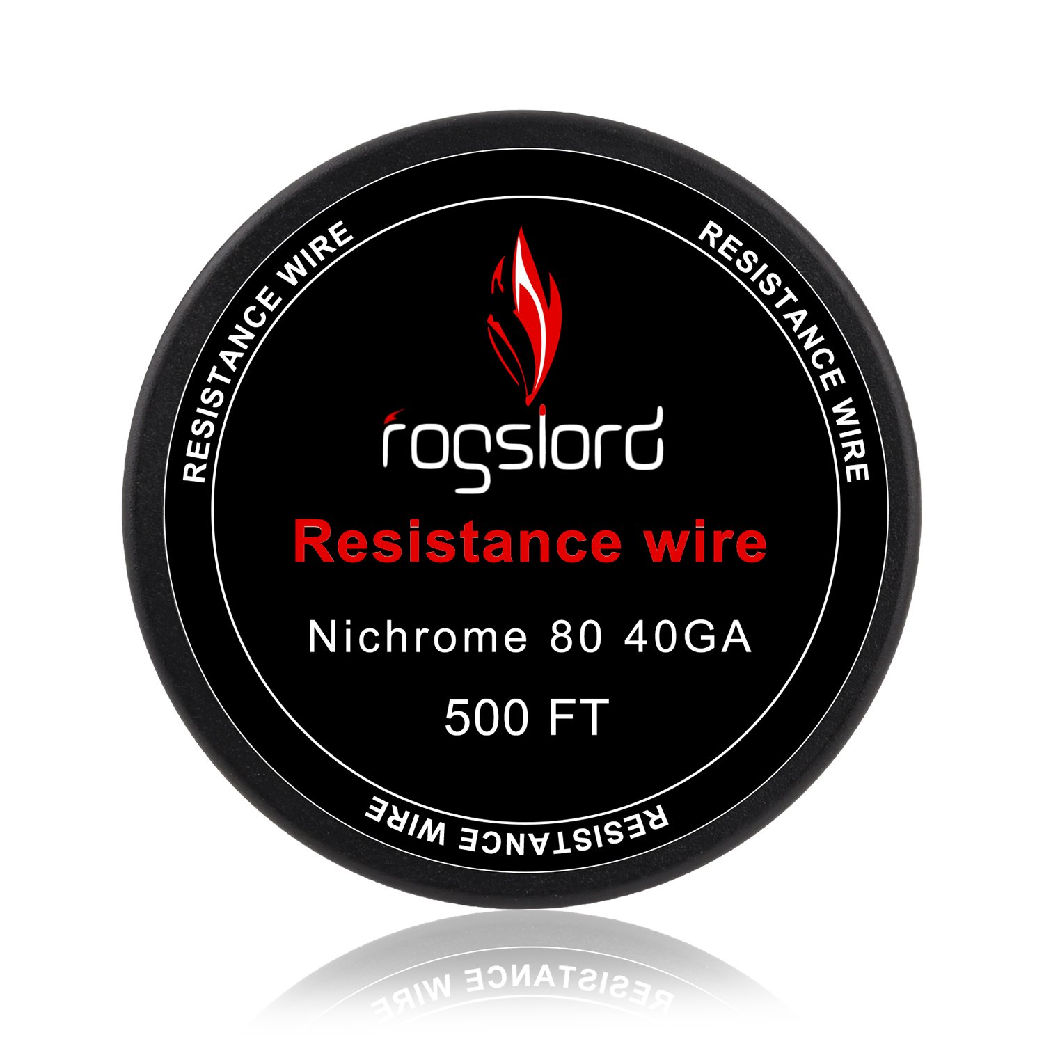 -22 24 26 28 32 36 38 40 AWG Gauge Spools Ni 80 Wire FogsLord 8 Sizes Nichrome 80 Total 2000FT