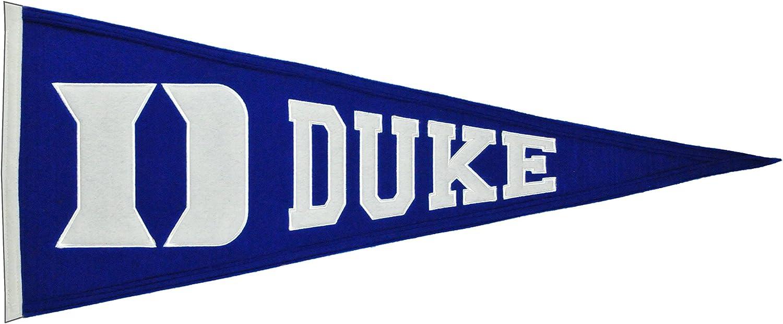 NCAA Duke Blue Devils Pennant Earrings