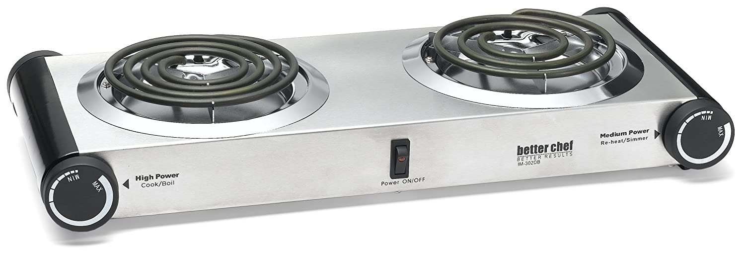 how to clean burnt electric stove top burners