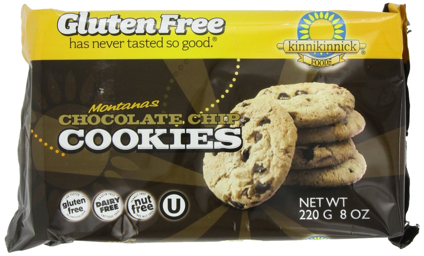 Amazon.com: Kinnikinnick Gluten Free Cookies, Ginger Snap, 7 Ounce ...
