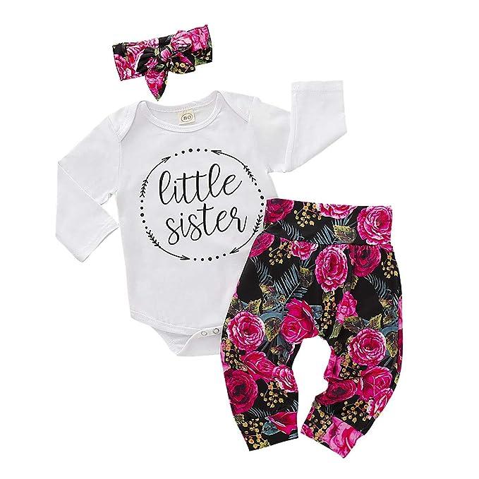 Amazon.com: Juego de ropa de manga corta para recién nacido ...