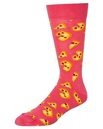 economico per lo sconto ufficiale foto ufficiali Happy Socks Pizza Sock, Calzini Uomo, Rosa (Pink 350), 41-44 ...