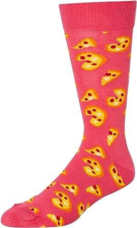 Happy Socks Pizza Sock, Calcetines para Hombre