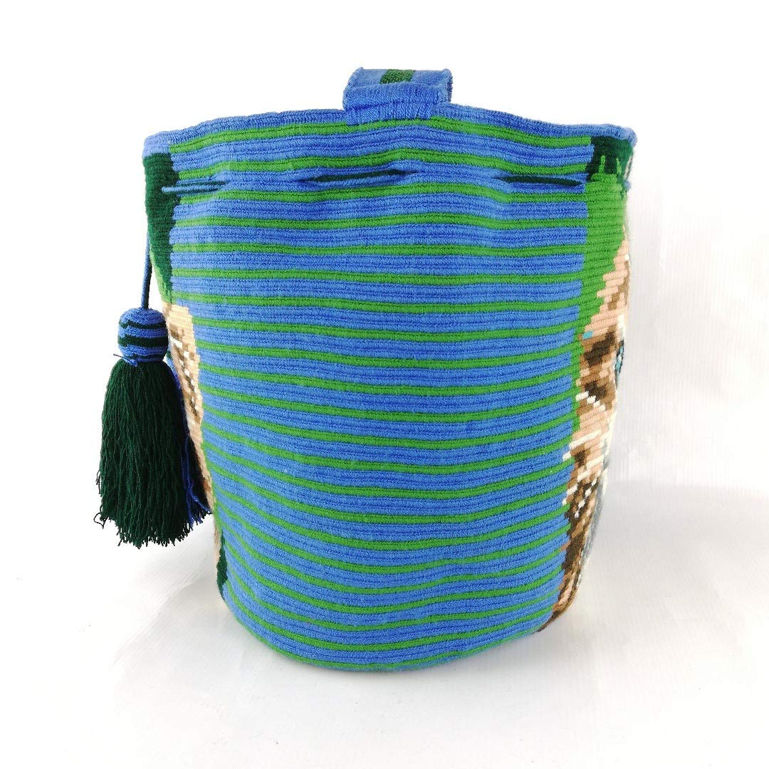 Amazon.com | Wayuu Bag - Premium 1T - Design - X Large - IWO0038 Black | Shoes