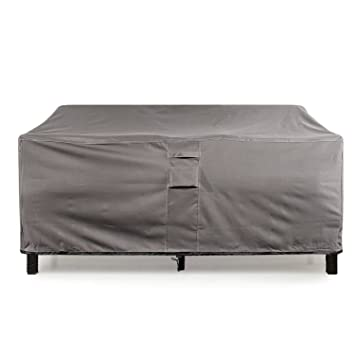 KHOMO GEAR   TITAN Series   Waterproof Heavy Duty Outdoor Lounge Loveseat  Sofa Patio Cover