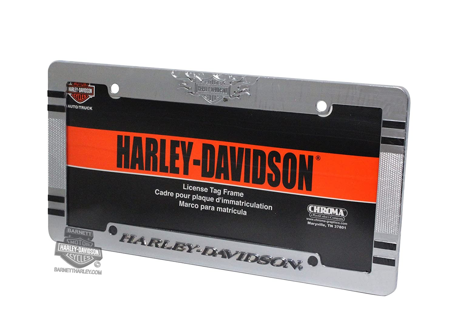 amazoncom harley davidson license plate frame automotive