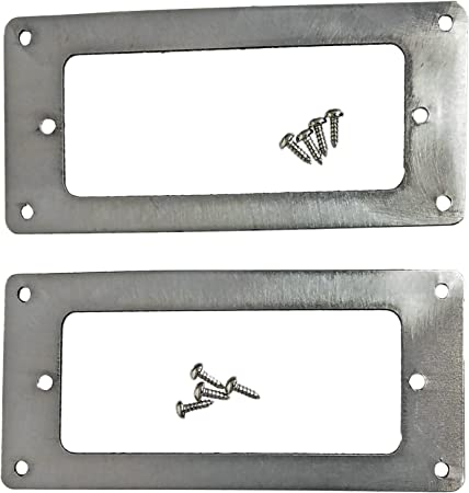 Set of 2 MINI HUMBUCKING PICKUP RINGS CREAM SMALL HUMBUCKER NEW FREE SHIPPING