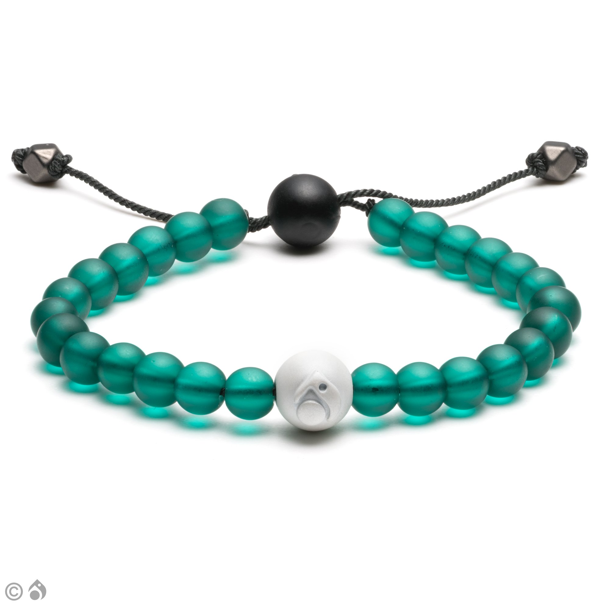 Lokai Forest Glass Bead Bracelet - Size Small/Medium