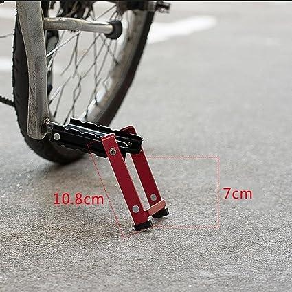 MlecTech - Pedal de apoyo plegable para bicicleta de montaña, 1 ...