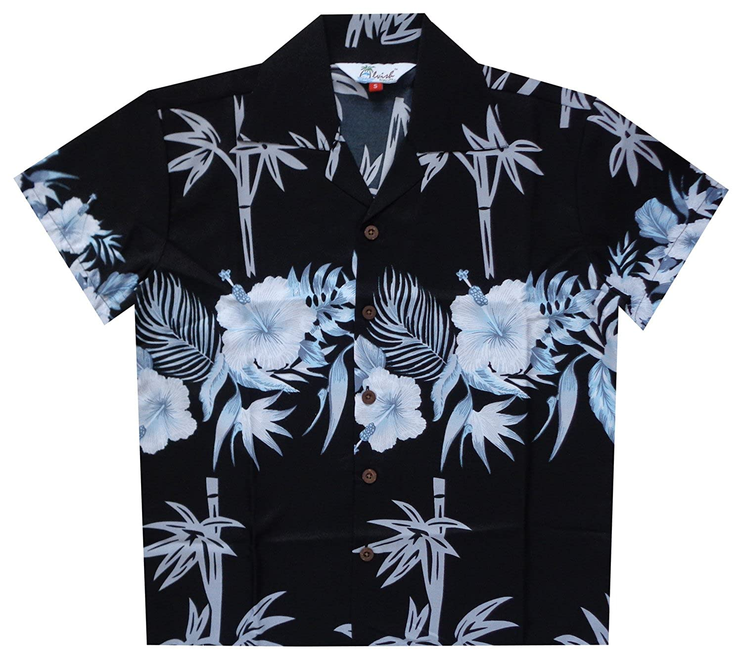 2824cecb1 Alvish Hawaiian Shirts Boys Bamboo Beach Aloha Party Camp Short Sleeve Holiday  Casual: Amazon.ca: Clothing & Accessories