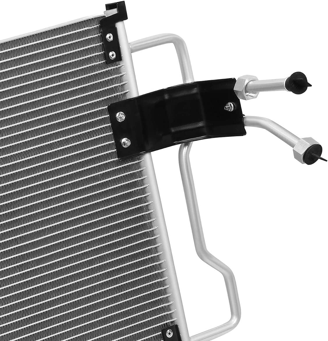 Metallic DNA MOTORING OEM-CDS-4678 4678 Aluminum Air Conditioning A//C Condenser for FORD F-150 1997-2004