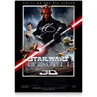 Darth Maul (Ray Park) Signed Star Wars Poster: The Phantom Menace | Autographed Movie Memorabilia