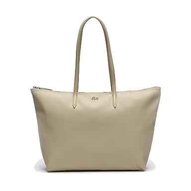 Lacoste Main À Avec Bag Dame Fermeture Sac Shopping Eclair 67ybYfg
