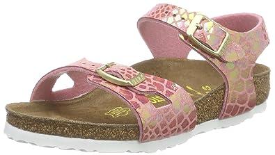 BIRKENSTOCK Mädchen Rio Knöchelriemchen  Amazon.de  Schuhe   Handtaschen 313cb14a8ec