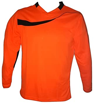 Amazon.com: Galaxy Fútbol Portero Jersey Naranja: Clothing