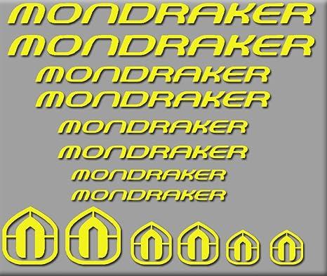 Ecoshirt K0-Z8YO-31UV Pegatinas Mondraker Bici R180 Stickers ...